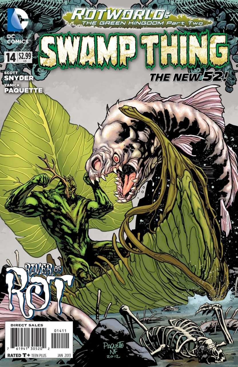 Swamp Thing #14 [2013] VF/NM DC Comics *The New 52*