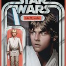 Star Wars #1 Luke Action Figure Variant [2015] VF/NM Marvel Comics