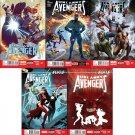 Uncanny Avengers Trade Set #21 22 23 24 25 [2014] VF/NM Marvel Now Comics