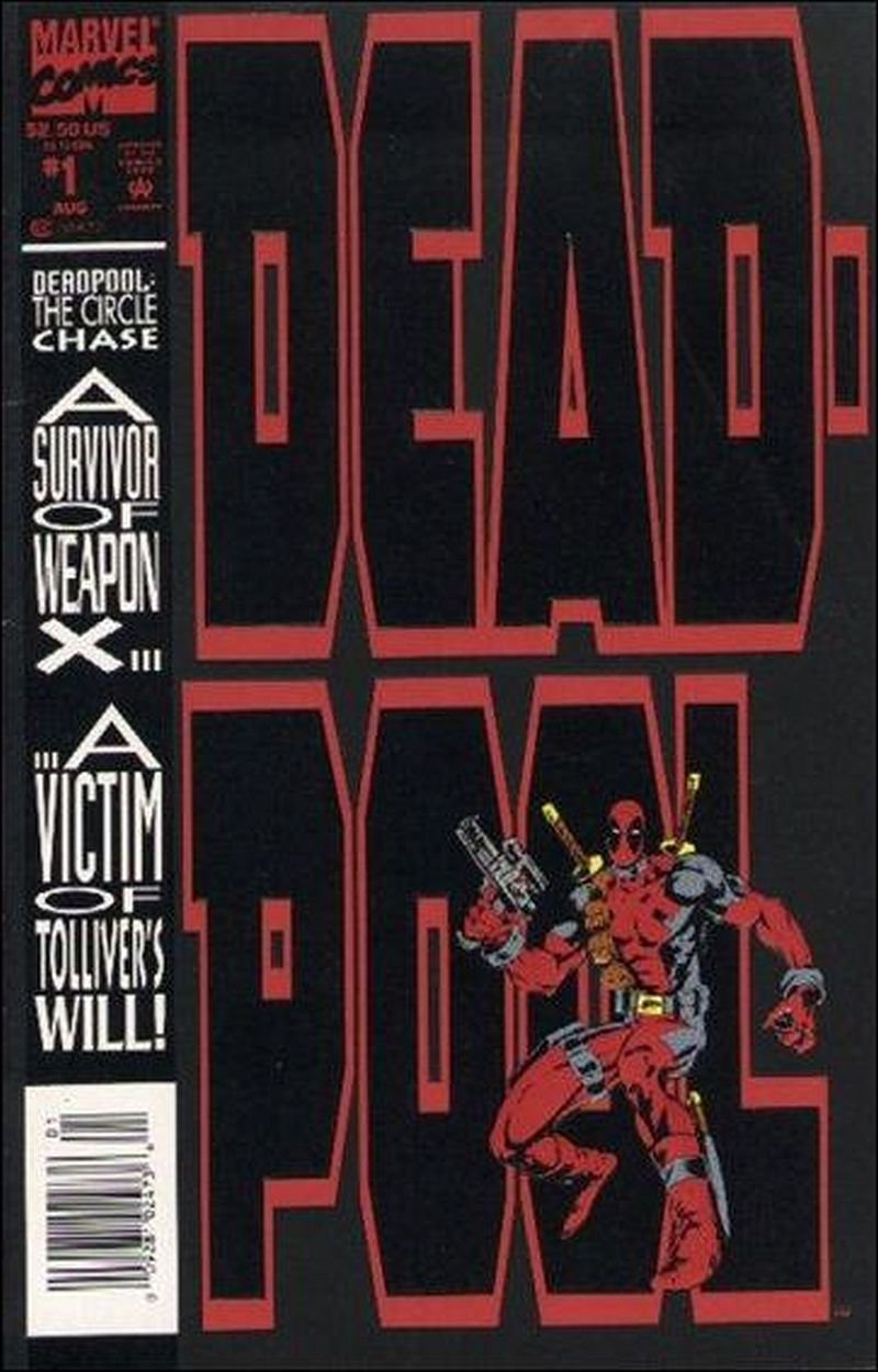 Deadpool: The Circle Chase #1 [1993] VF/NM Marvel Comics