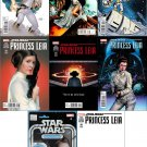 Princess Leia #1 [2015] Trade Set of Standard Cover and Seven Variants (Check Description) VF/NM