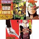 Chew #41, 42, 43, 44, 45 [2014] VF/NM Image Comics Trade Set