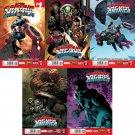 All New Captain America #1 2 3 4 5 [2014] VF/NM *Marvel Now*