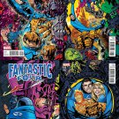 Fantastic Four Variant Set #642 643 644 645 Michael Golden Connecting Cover [2015] VF/NM