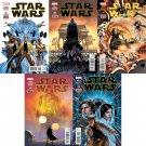 Star Wars #1 2 3 4 5 [2015] VF/NM  Marvel Comics *Trade Set*