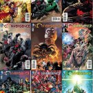 Convergence #0 1 2 3 4 5 6 7 8 Andy Kubert Covers [2015] VF/NM DC Comics Complete Set