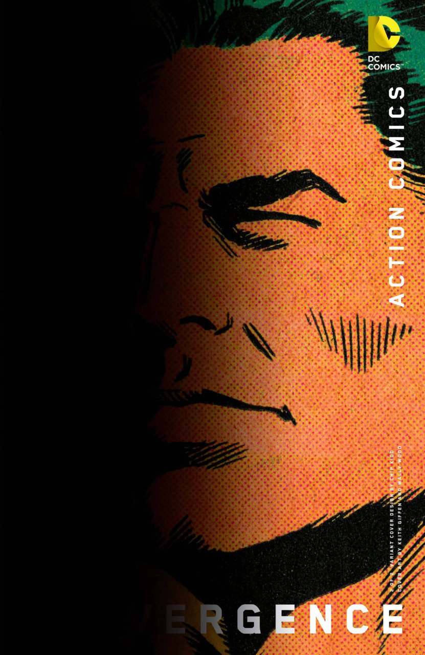 Convergence Action Comics #2 Chip Kidd Variant [2015] VF/NM DC Comics