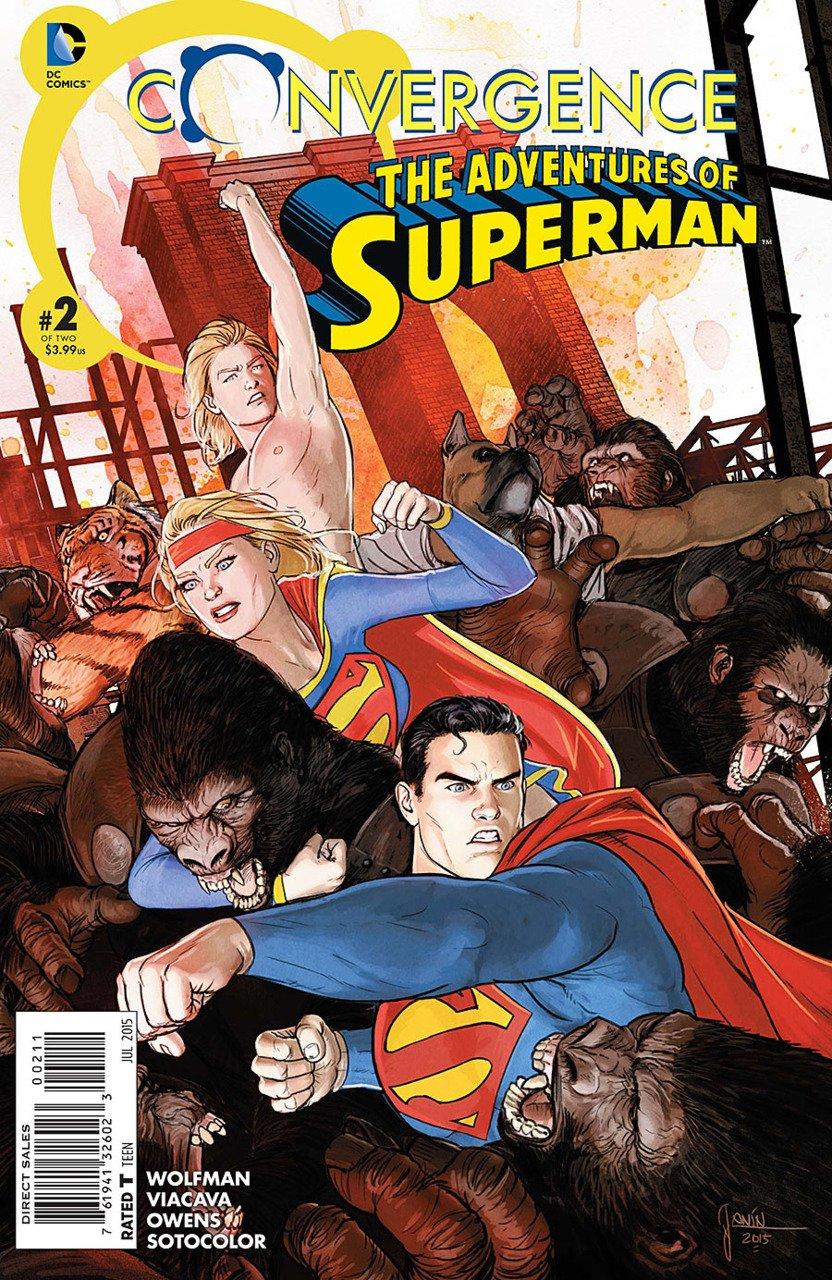 Convergence Adventures of Superman #2 [2015] VF/NM DC Comics