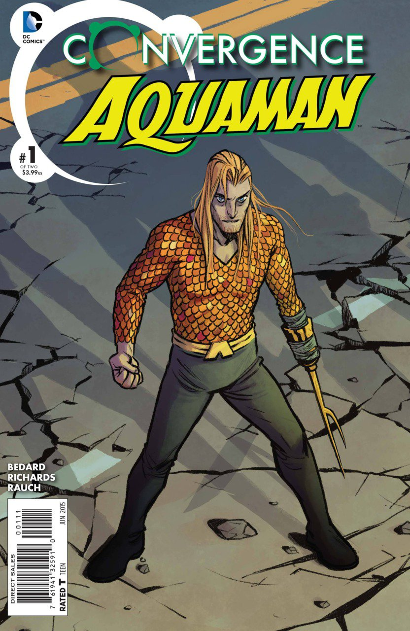 Convergence Aquaman #1 [2015] VF/NM DC Comics