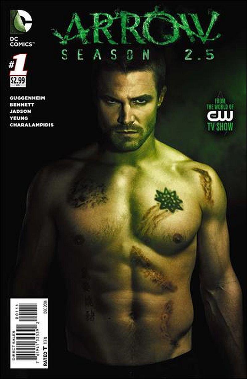 Arrow Season 2.5 #1 [2014] VF/NM DC Comics