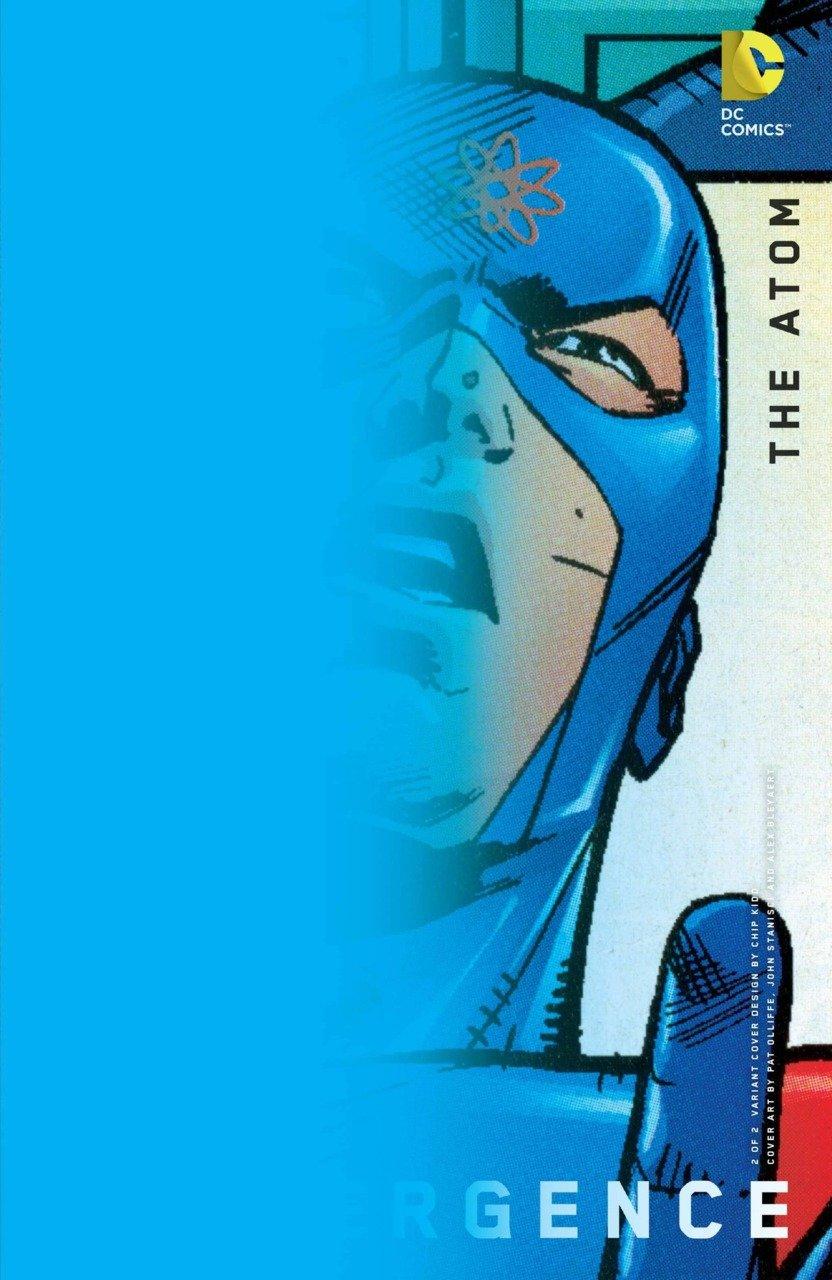 Convergence the Atom #2 Chip Kidd [2015] VF/NM DC Comics