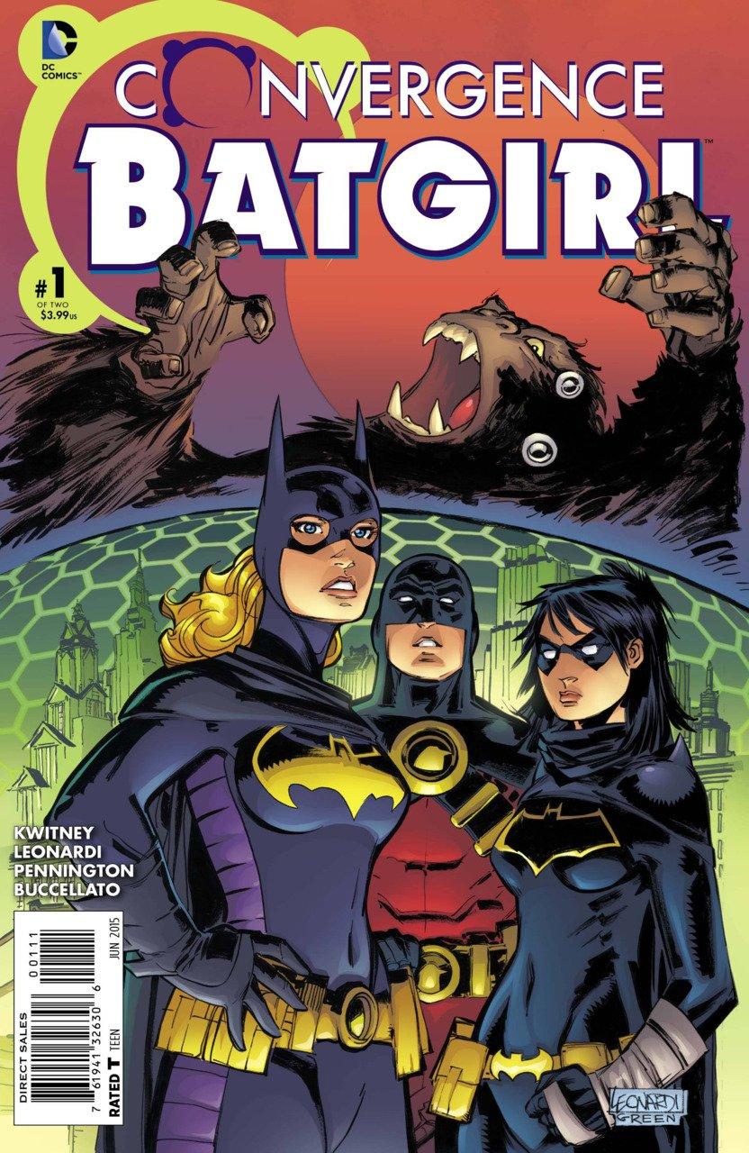 Convergence Batgirl #1 [2015] VF/NM DC Comics