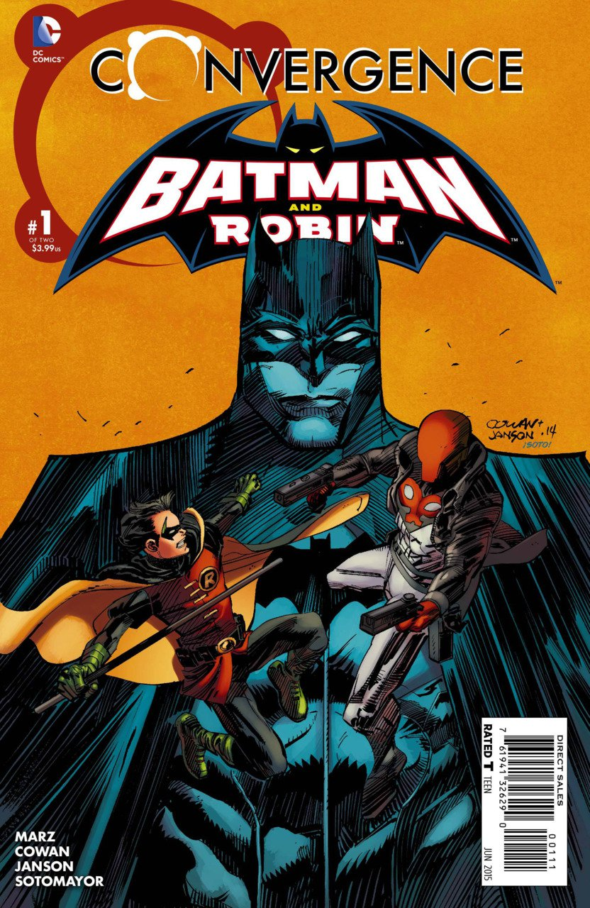 Convergence Batman and Robin #1 [2015] VF/NM DC Comics