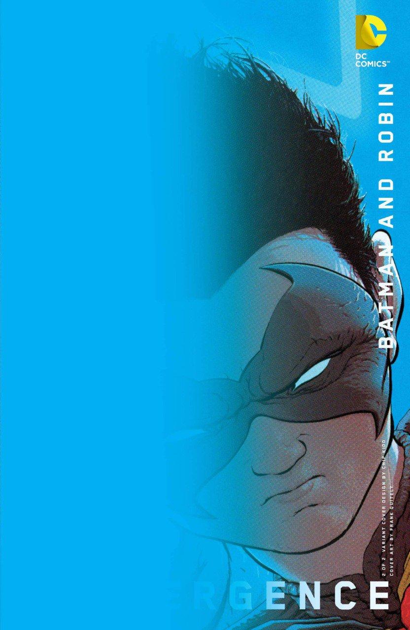 Convergence Batman and Robin #2 Chip Kidd Variant [2015] VF/NM DC Comics