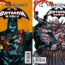 Convergence Batman and Robin #1 & 2 [2015] VF/NM DC Comics Trade Set