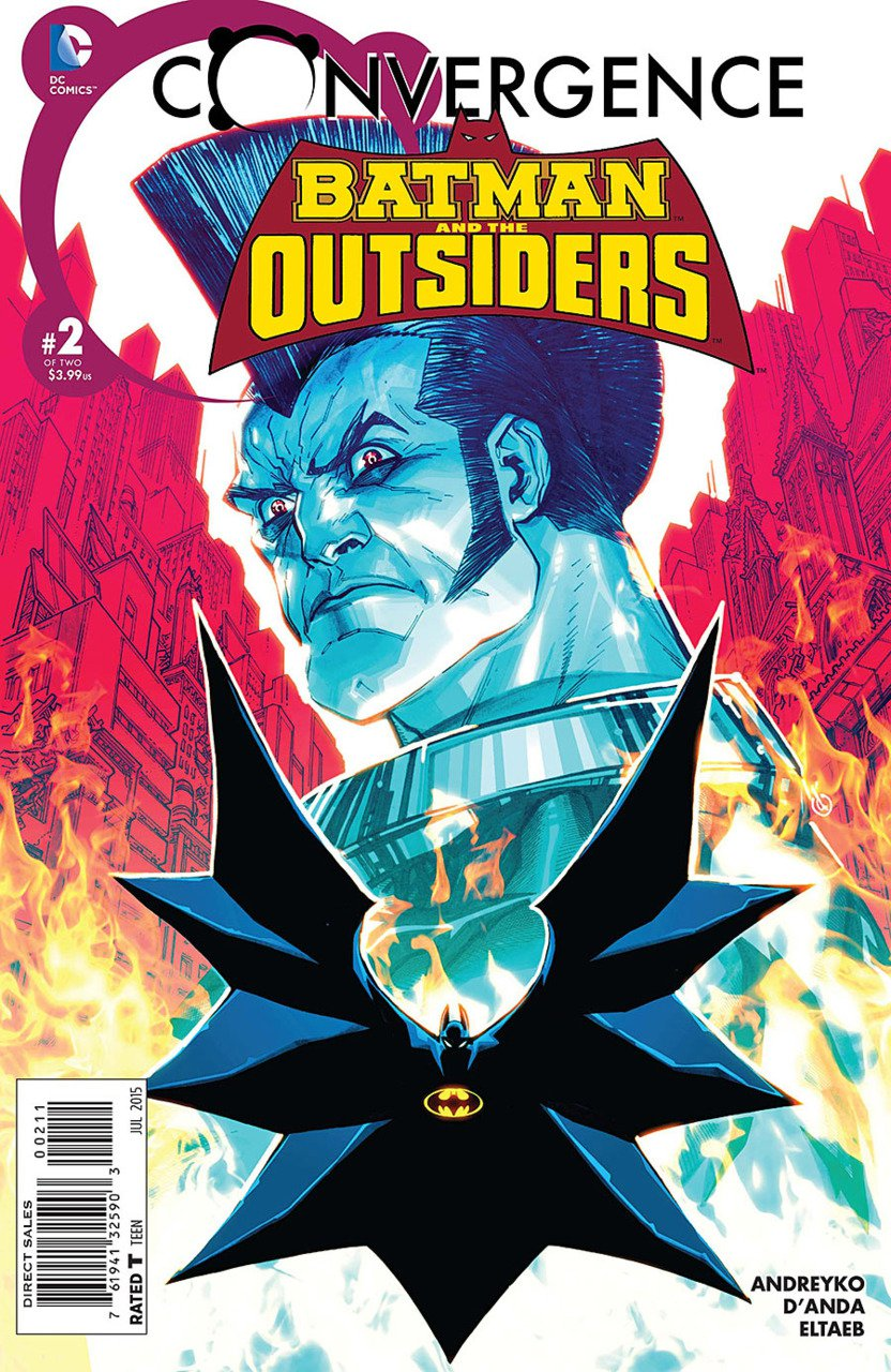 Convergence Batman and The Outsiders #2 [2015] VF/NM DC Comics