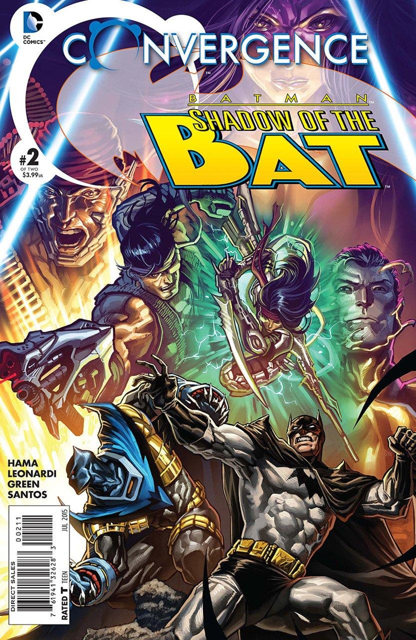 Convergence Batman Shadow of the Bat #2 [2015] VF/NM DC Comics