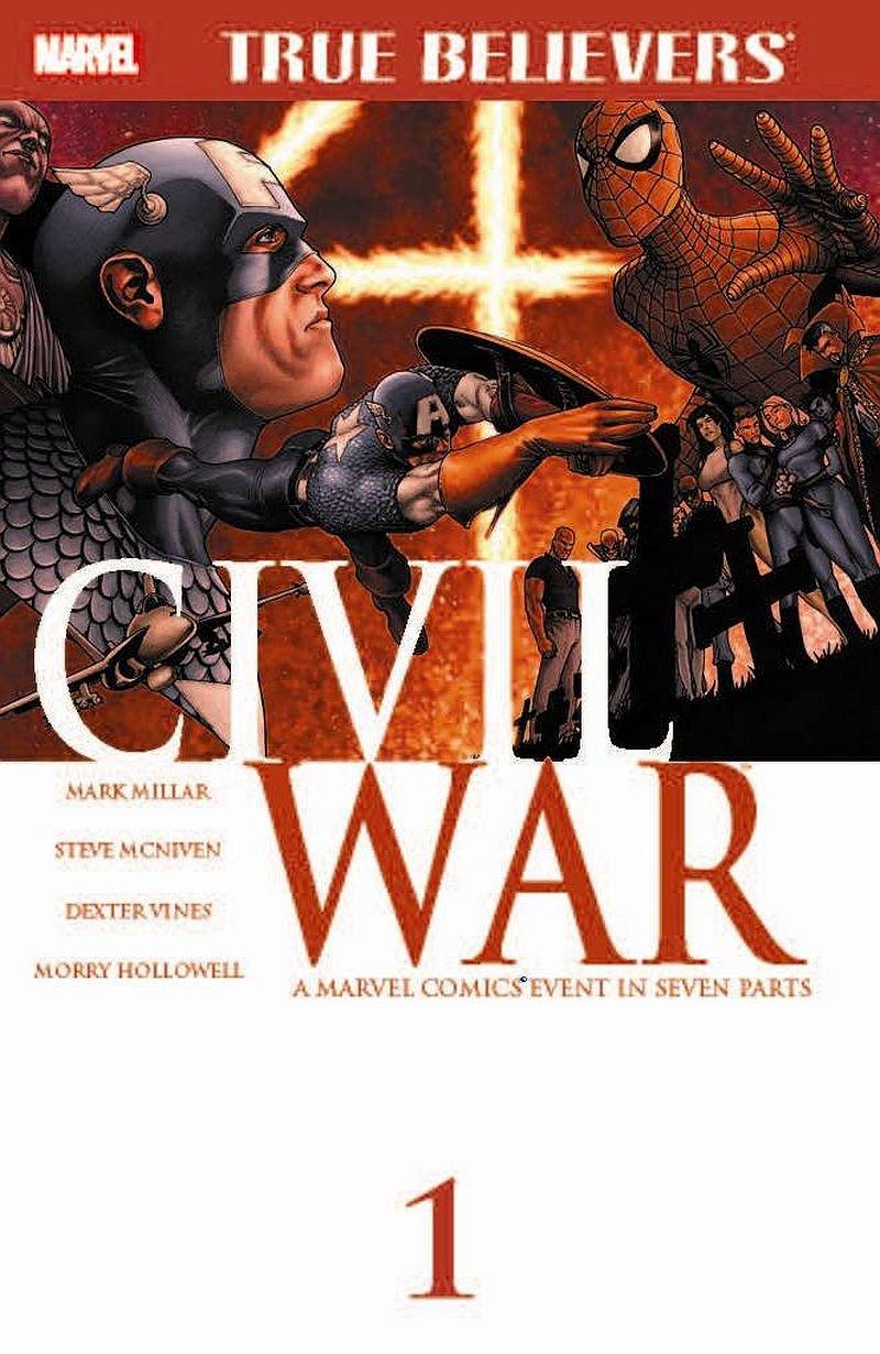 True Believers Civil War #1 [2015] VF/NM Marvel Comics
