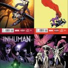 Inhuman #11 12 13 14 Trade Set [2015] VF/NM Marvel Comics