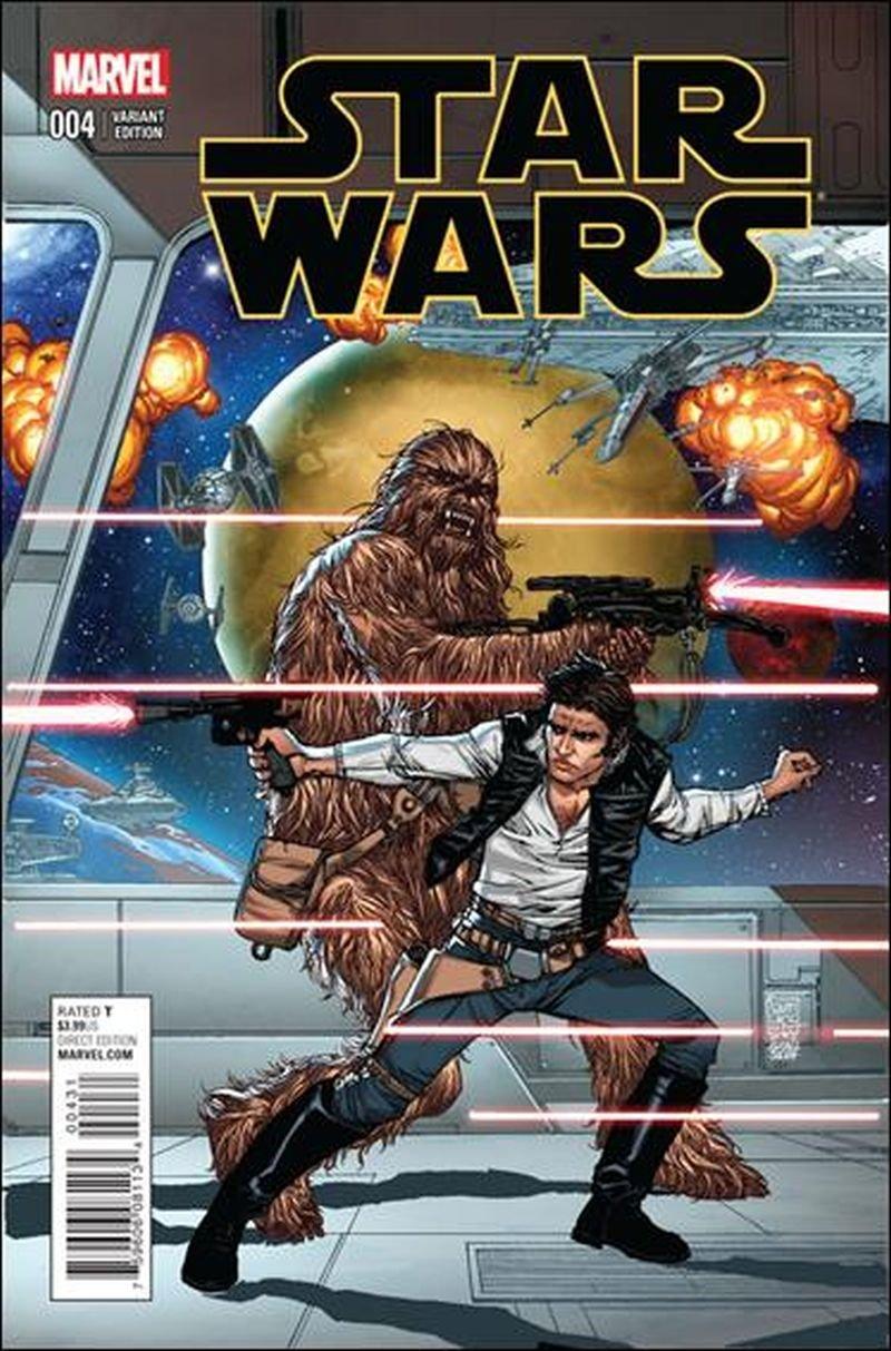 Star Wars #4 Giuseppe Camuncoli 1:25 Cover [2015] VF/NM Marvel Comics
