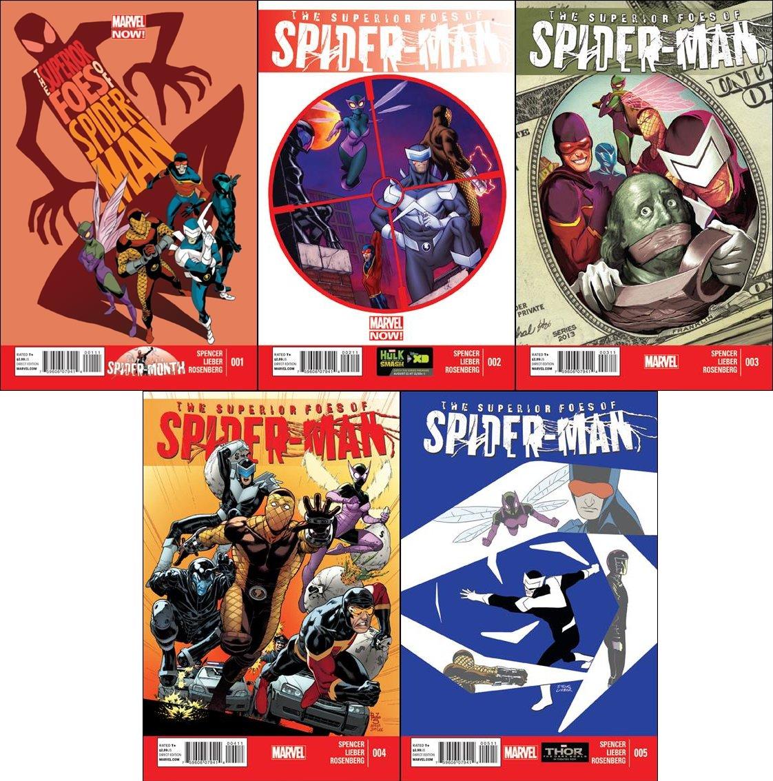 Superior Foes of Spider-Man #1 2 3 4 5 Trade Set [2013-2014] VF/NM Marvel Comics
