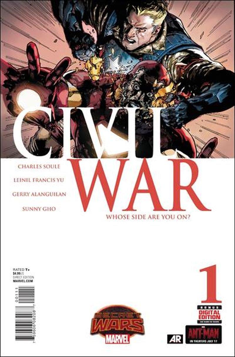 Civil War #1 [2015] VF/NM Marvel Comics