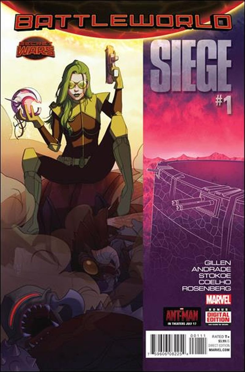 Siege #1 [2015] VF/NM Marvel Comics