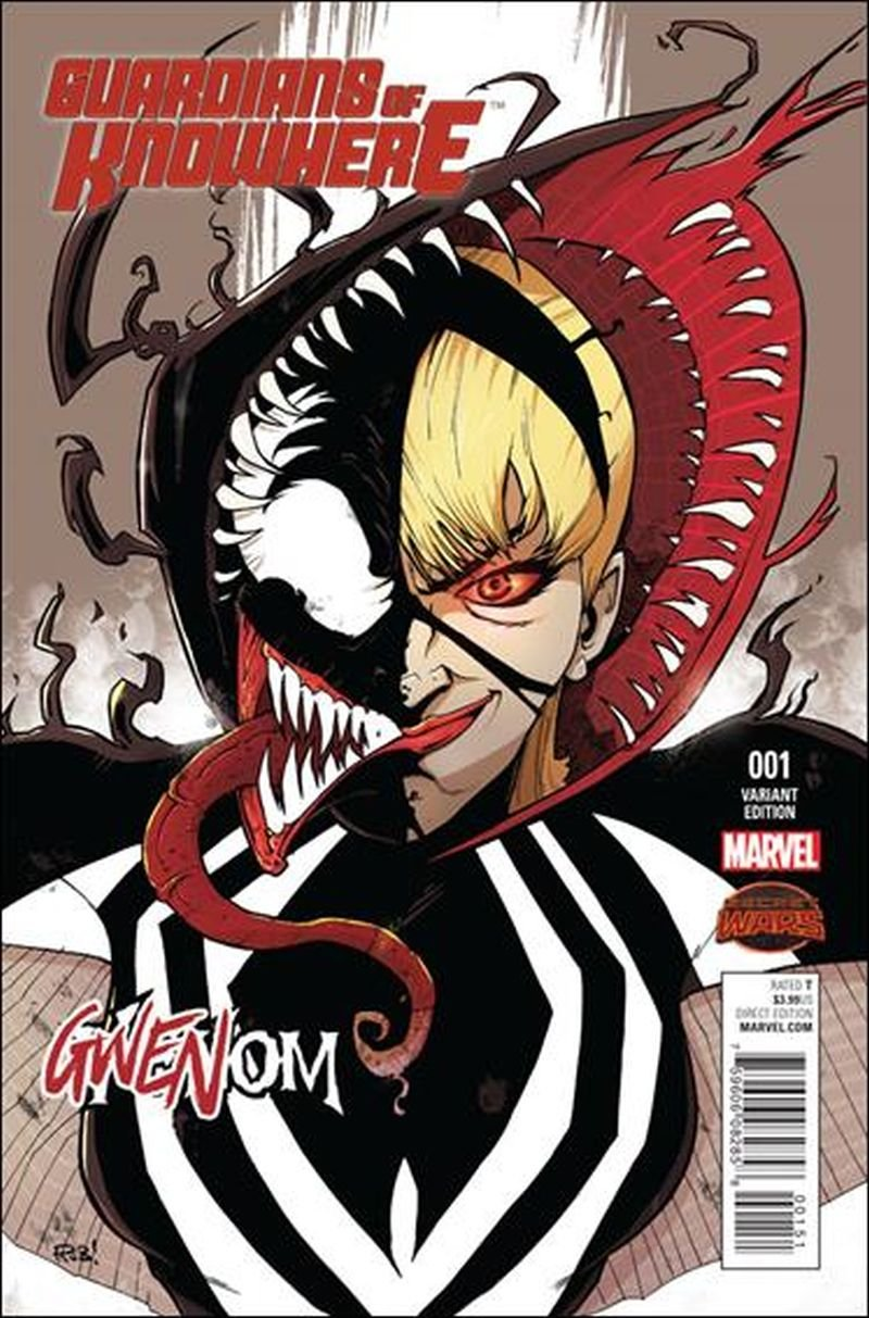 Guardians of Knowhere #1 Rob Guillory Gwenom Variant [2015] VF/NM Marvel Comics