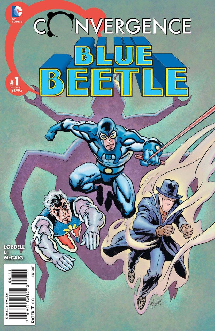Convergence Blue Beetle #1 [2015] VF/NM DC Comics