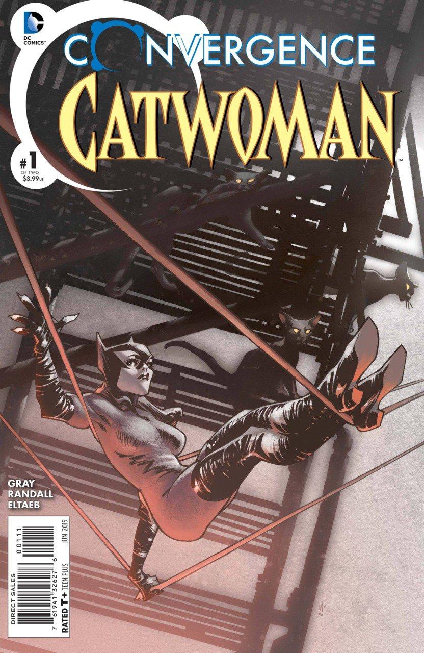 Convergence Catwoman #1 [2015] VF/NM DC Comics