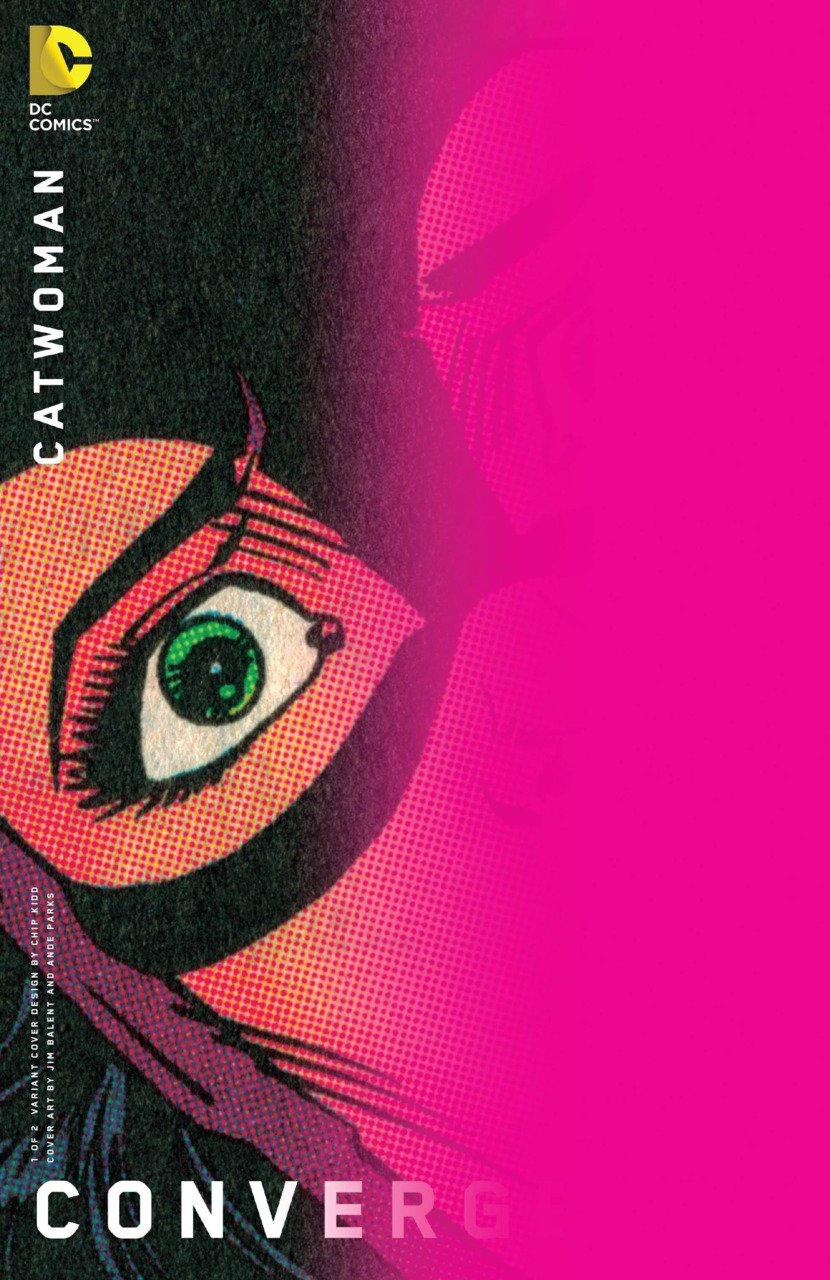 Convergence Catwoman #1 Chip Kidd Variant [2015] VF/NM DC Comics