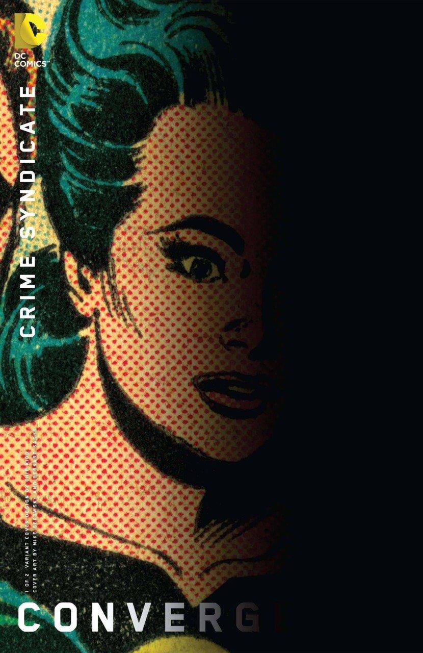Convergence Crime Syndicate #1 Chip Kidd Variant [2015] VF/NM DC Comics