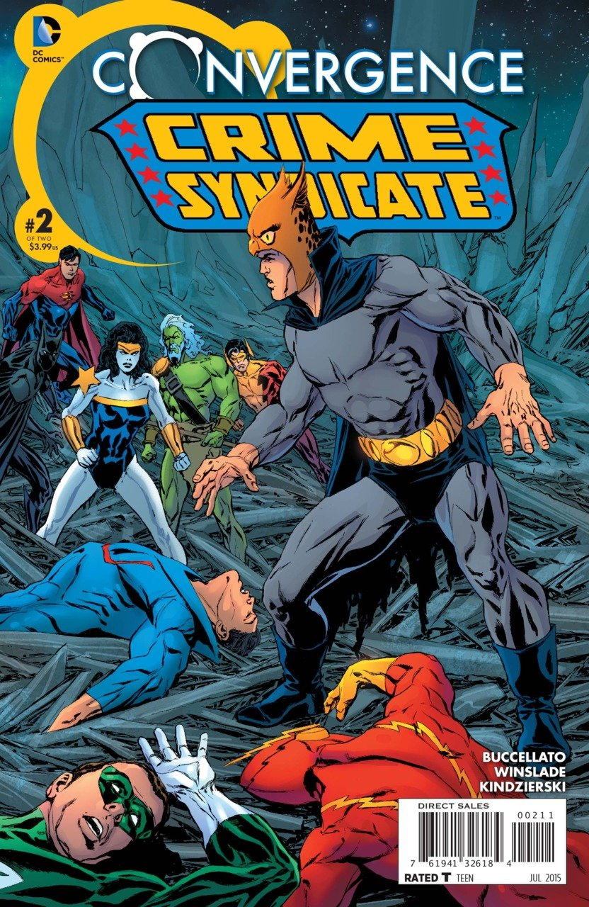 Convergence Crime Syndicate #2 [2015] VF/NM DC Comics