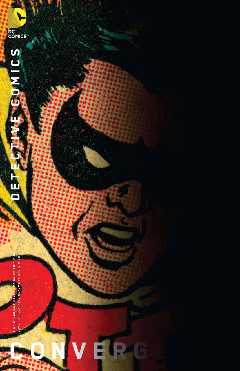 Convergence Detective Comics #1 Chip Kidd Variant [2015] VF/NM DC Comics