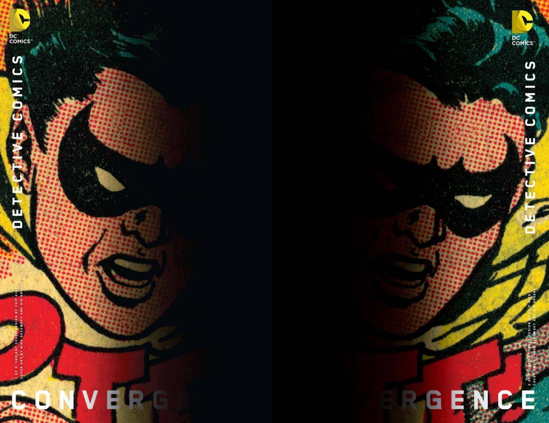 Convergence Detective Comics #1 & 2 Chip Kidd Variants [2015] VF/NM DC Comics Trade Set