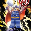 Avengers #21 (Vol 5) Leonel Castellani 1:25 Lego Cover [2013] VF/NM Marvel Comics