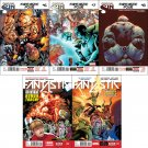 Fantastic Four Set #6 7 8 9 10 (Vol 5) [2014] VF/NM Marvel Now Comics