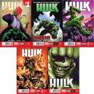 Hulk #1 2 3 4 5 Trade Set [2014] VF/NM Marvel Comics