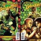Convergence Green Lantern Corps #1 & 2 [2015] VF/NM DC Comics Trade Set