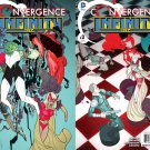 Convergence Infinity Inc #1 & 2 [2015] VF/NM DC Comics Trade Set