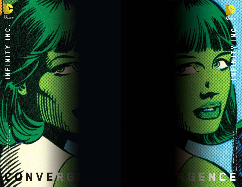 Convergence Infinity Inc #1 & 2 Chip Kidd Variants [2015] VF/NM DC Comics Trade Set