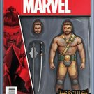 Hercules #1 John Tyler Christopher Action Figure Variant Cover [2016] VF/NM Marvel Comics