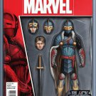 Black Knight #1 John Tyler Christopher Action Figure Variant Cover [2016] VF/NM Marvel Comics