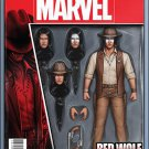 Red Wolf #1 John Tyler Christopher Action Figure Variant Cover [2016] VF/NM Marvel Comics