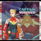 Captain Marvel #1 Hip Hop Variant Cover [2016] VF/NM Marvel Comics