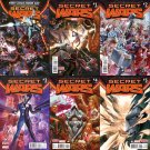 Secret Wars Complete Set #0 1 2 3 4 5 6 7 8 9+Free Variant Cover [2015-16] *Free shipping*