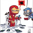 Invincible Iron Man #6 Skottie Young Baby Variant Cover [2016] VF/NM Marvel Comics