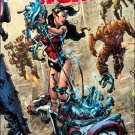 Wonder Woman #49 Kim Jung Gi Justice League Connecting Variant Cover [2016] VF/NM DC Comics