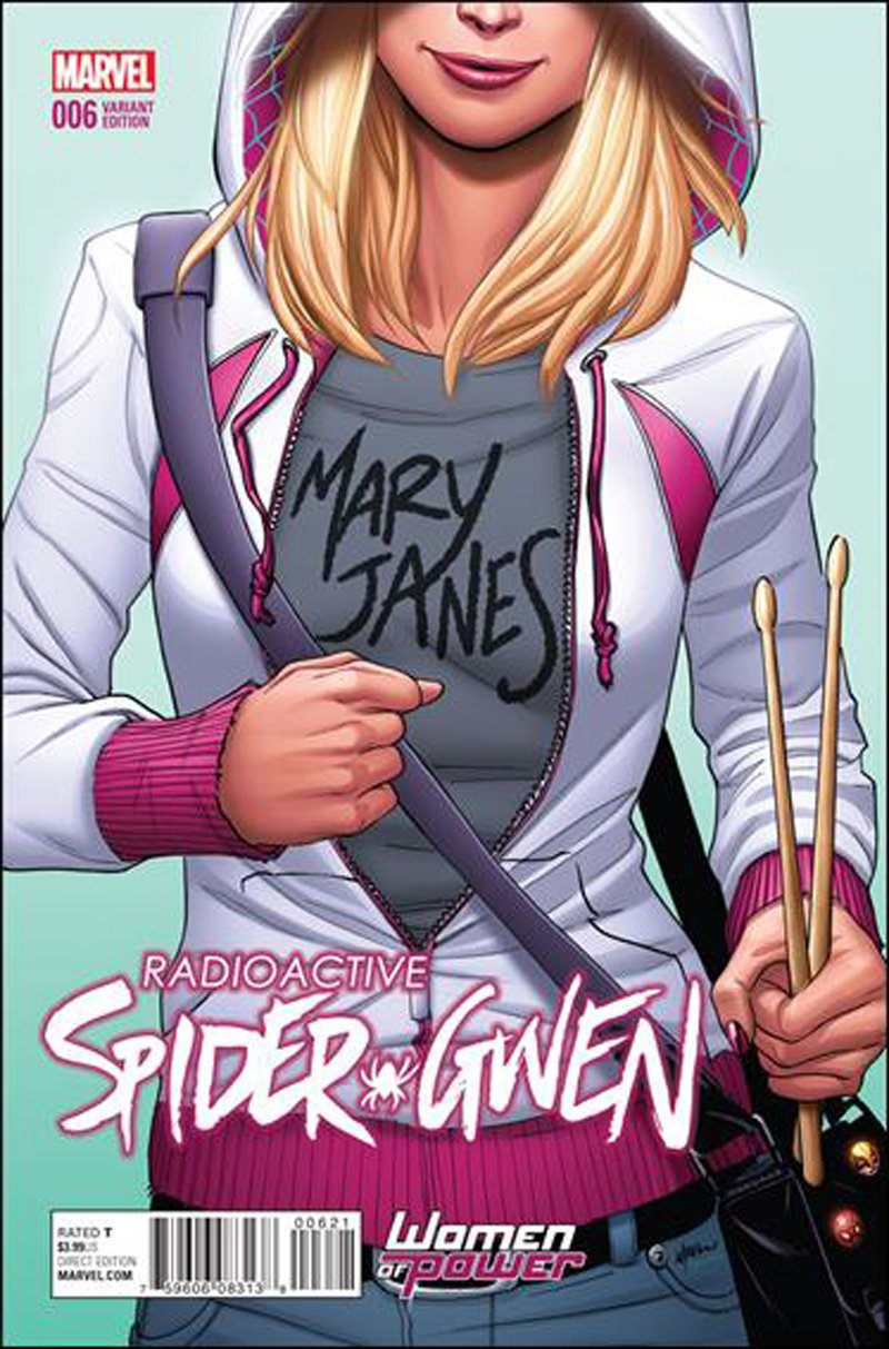 Spider-Gwen #6 Emanuela Lupacchino Women of Power Variant Cover [2016] VF/NM Marvel Comics