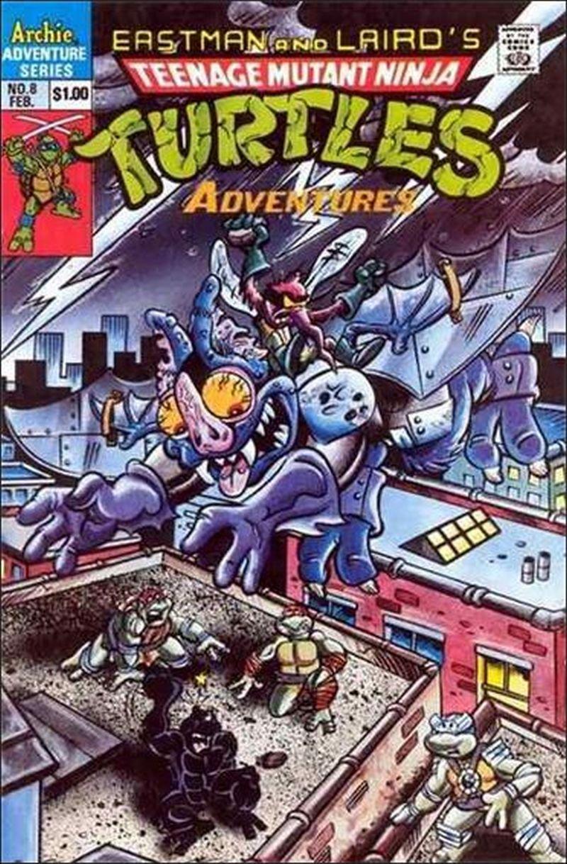 Teenage Mutant Ninja Turtles Adventures #8 [1990] VF/NM Archie Comics